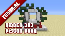 Flush 3 by 3 door TUT Minecraft