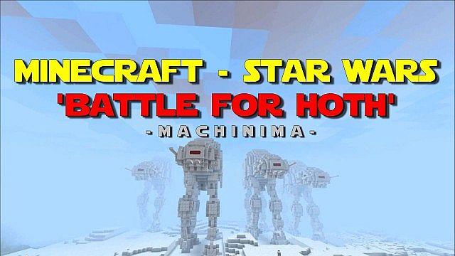 Minecraft - Star Wars - 'Battle For Hoth'