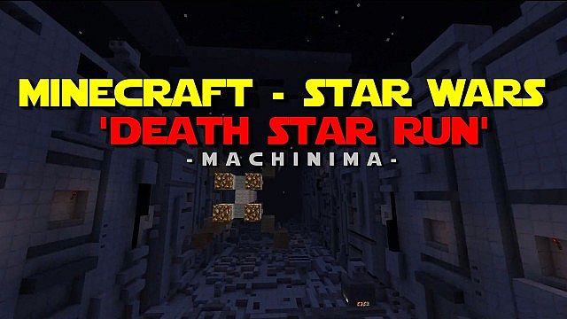 Minecraft - Star Wars - 'Death Star Run'