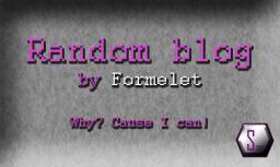 Random blogs.. Agree or disagree? Minecraft Blog