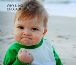 WHY U NO UPLOAD! Minecraft Blog