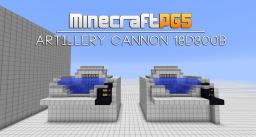 Artillery Cannon 18d300b long range and targetable Minecraft Map & Project