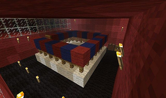 The inside of the Boxing Ring