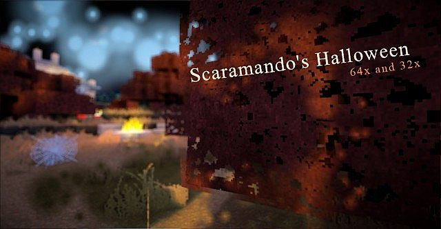 Scaramando's Halloween - 32x Orange grass (64x and Seus versions