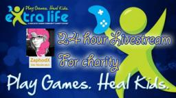 ZaphodX's 24hour charity livestream