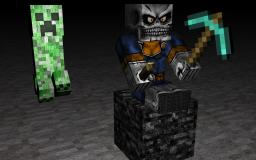 (Wallpaper) Skeleton minor Minecraft Project