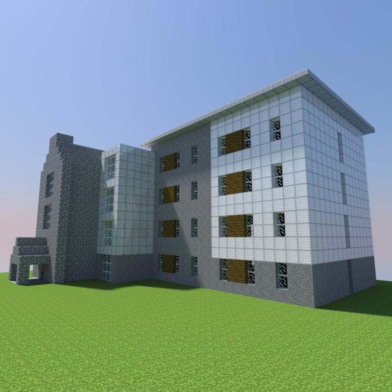 Modern Flats Minecraft Project