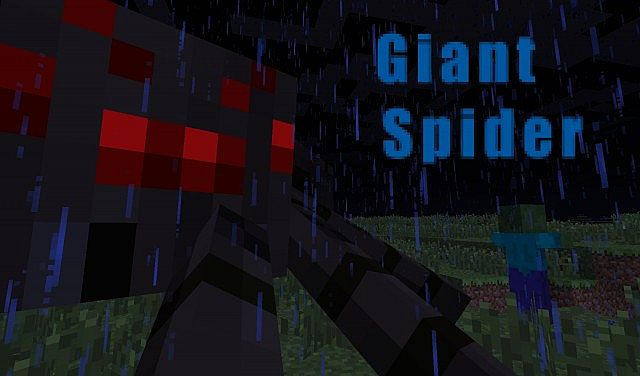 Giant Spiders Mod Blame The