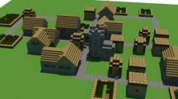 A fun village seed Minecraft Map & Project