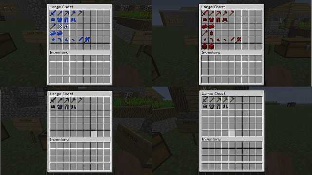 All the items in the mod
