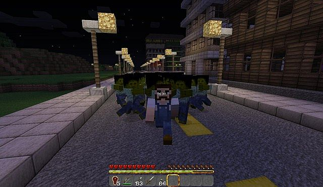 The walking dead craft minecraft blog for Crafting dead mod download
