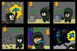 MINECRAFT COMIC Minecraft Blog