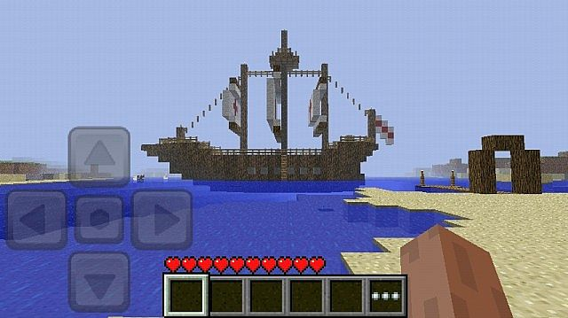 Minecraft - Pocket Edition PvP Map (Pirate Themed) Minecraft Project