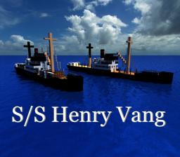 S/S Henry Vang - 1929 Log Carrier Minecraft