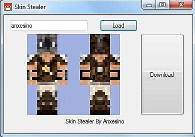 Anxesino Skin Stealer All MC Versions Minecraft Mod - Minecraft skin stealer name mc