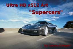 Ultra HD x512 Art - Supercars