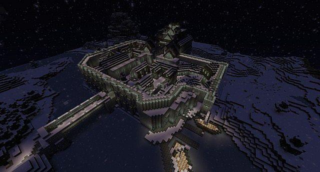 Skyrim Windhelm Timelapse Minecraft Project