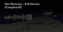 Star Destroyer With Full Interior Minecraft Map & Project