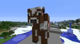 Jeffery The Cow and Timmy the Pig Minecraft