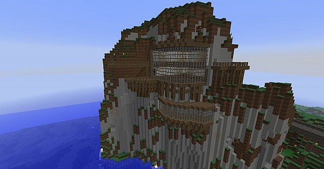 House In Mountain Minecraft Project
