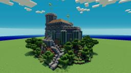 "Project ""wolfcastle"" Little Castle or Watchtower Minecraft"