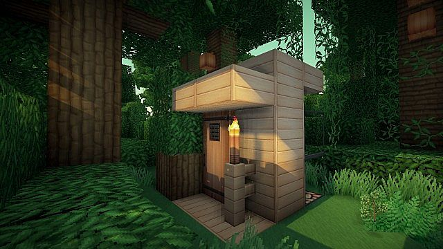 Modern 3x3 house from keralis minecraft project for Modern house 5 keralis