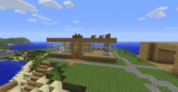 Awesome beach house Minecraft Map & Project