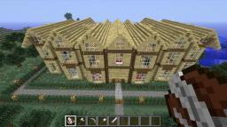Wooden Mansion Minecraft