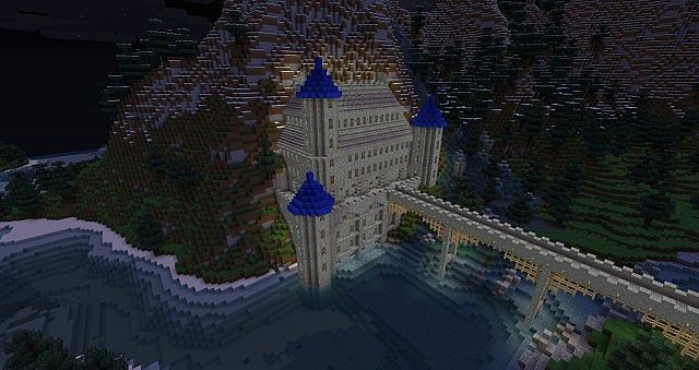 The Castle at night.. xD