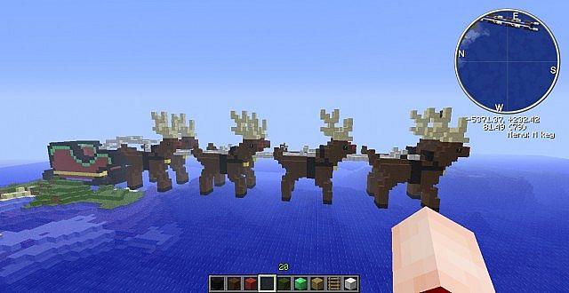 Santas Sleigh Minecraft Project