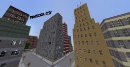 Minecraft City - Pandora City Minecraft Map & Project
