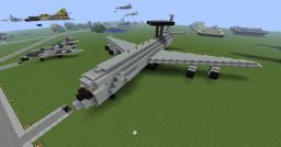 Boeing E-3 Sentry Awacs Minecraft