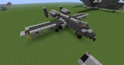 Fairchild A-10 Thunderbolt II Minecraft
