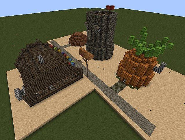 bonus Krusty Krab  Mr Krabs House Minecraft