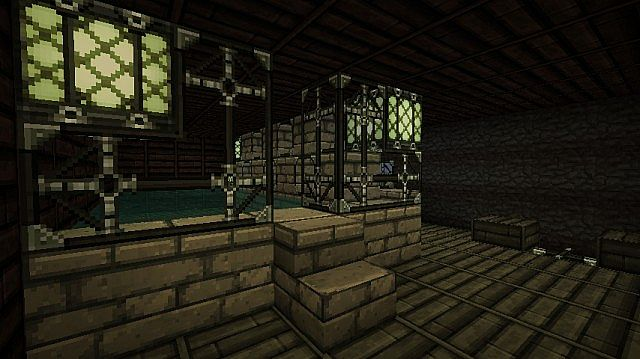 Square Log Cabin Minecraft Project