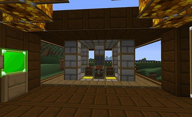 Tekkit beach house with mine and lift minecraft project Beach house lifts
