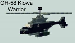 OH-58 Kiowa - Army Recon Helicopter Minecraft Map & Project