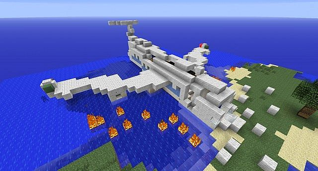 Tekkit Plane Crash Survival Island Minecraft Project