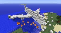 Tekkit Plane Crash Survival Island Minecraft Map & Project