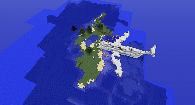 how to make a water plane in minecraft