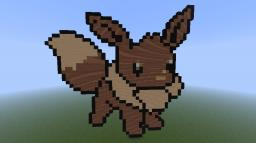 Eevee Pokemon Minecraft Map & Project