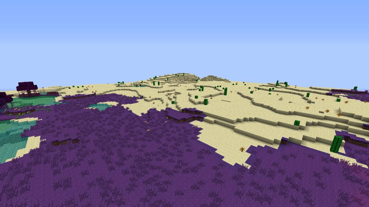 Alien Planet Minecraft Texture Pack
