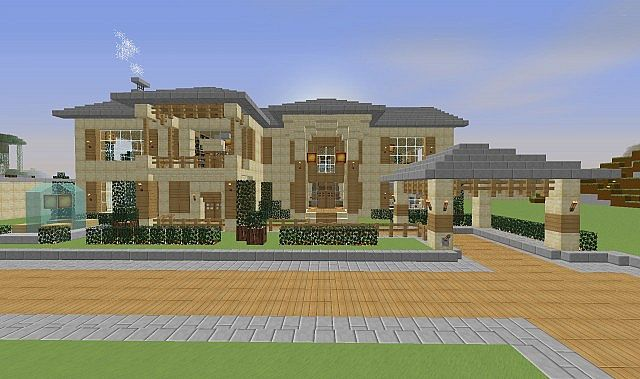 Cool Mansion Minecraft Project