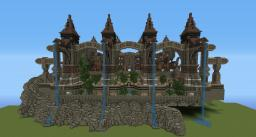 Cliff Town Minecraft Map & Project