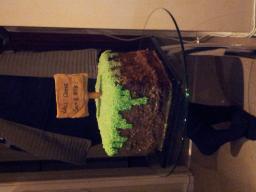 Minecraft Grass Block Cake Minecraft