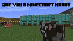 You know your a noob in minecraft when...