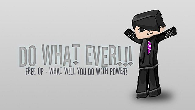 Do What Ever FREE OP Minecraft Server