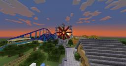 The Oakwood Private Themepark|Update v2.1!!! Minecraft Map & Project