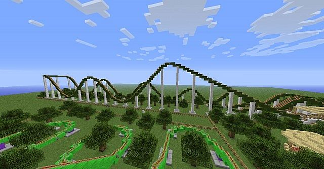 The oakwood private themepark update v2 1 minecraft project The oakwood
