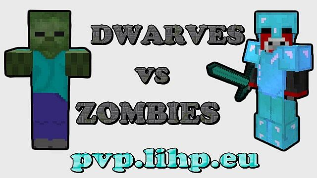 Dwarves vs Zombies - DvZ PVP mini game server